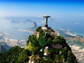 обои для рабочего стола: Вид Бразилии