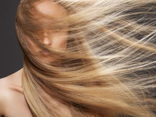 обои Длинные волосы развиваются на ветру фото