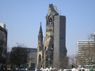 обои Прошлое и современность. Берлин фото