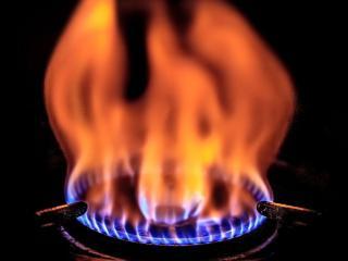 обои Газовое пламя фото