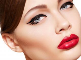 обои для рабочего стола: Исксство макияжа