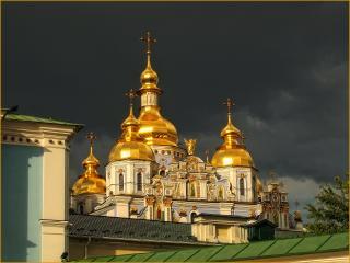 обои Михайловский Золотоверхий монастырь фото