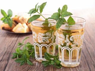 обои для рабочего стола: Мятный чай по-марокански