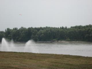 обои Летом на реке Иртыш фото