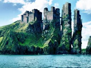 обои Замок Исландии фото