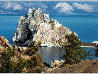 обои для рабочего стола: Байкальские скалы