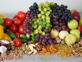 обои для рабочего стола: Фрукты,   ягоды,   орехи