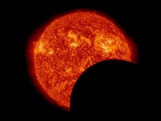 обои для рабочего стола: Солнечное затмение