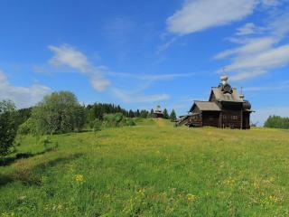 обои для рабочего стола: Архитектурно-этнографический музей «Хохловка» - первый на Урале