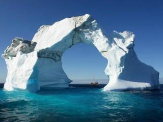 обои для рабочего стола: Ворота в Арктику