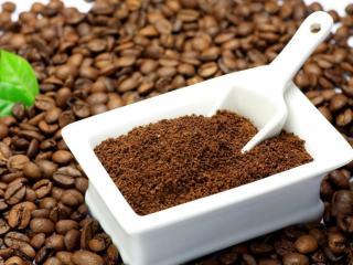 обои Кофе молотый и в зёрнах фото