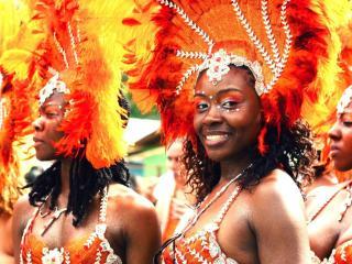 обои для рабочего стола: Национальный праздник. Карибские острова