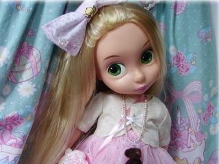 обои Зеленоглазая кукла фото