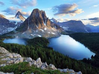 обои для рабочего стола: Красота гор и озёр