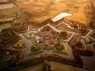 обои для рабочего стола: Крепость Буртанж,   Нидерланды