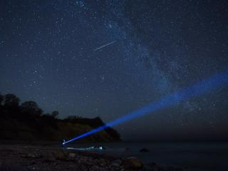 обои Млечный путь над Балтийским морем,   Калининградская область фото