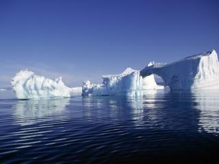 обои для рабочего стола: Айсберги арктики