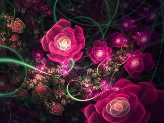 обои Вальс цветов фото
