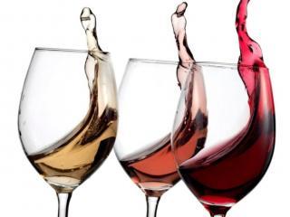 обои Вино в бокалах фото