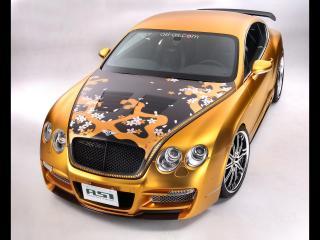 обои Bentley W66 GTS Gold фото