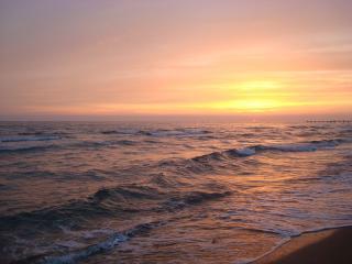 обои Вечер у моря фото
