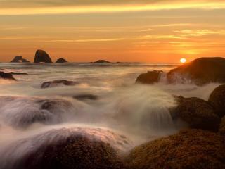 обои Indian Beach, Oregon Coast, Oregon фото