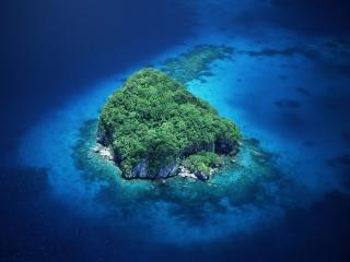обои Rock Island, Palau, Micronesia фото
