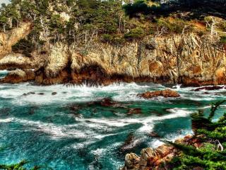 обои Ручей в горах фото