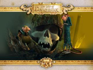 обои Приключения Десперо - череп фото