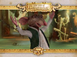 обои Приключения Десперо - мышь фото