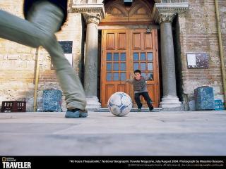 обои Страсть к футболу фото