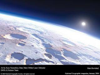 обои Поверхность Марса фото