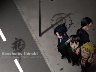 обои NARUTO- KONOHA NO SHINOBI фото