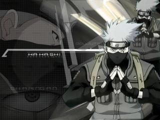 обои Naruto - Kakashi sensei фото