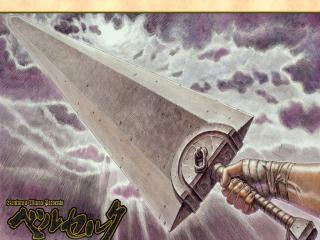 обои Berserk - меч драконов фото