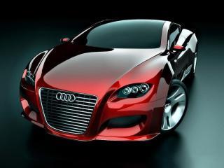 обои Ugur Sahin Design Audi LOCUS передок фото