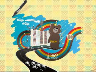 обои 22 олимпийские игры в Москве - 1980 фото