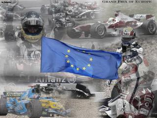 обои Гран При Европы фото