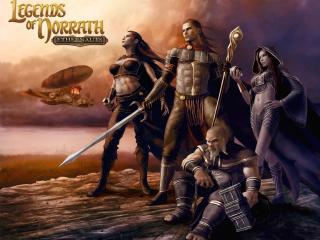 обои Legends of Norrath фото