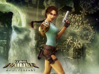 обои Tomb Raider: Anniversary - Лара Крофт фото