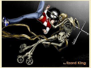 обои Air Gear - скелет фото
