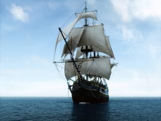 обои Sailing the ocean фото