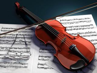 обои Скрипка мастера фото