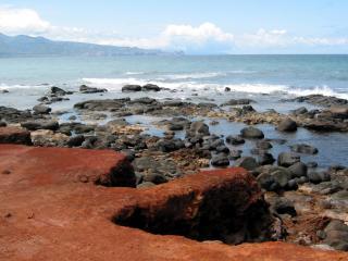 обои Каменистое побережье фото