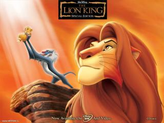 обои Король лев фото