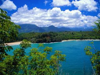 обои Kalihiwai Beach, Kauai, Hawaii фото