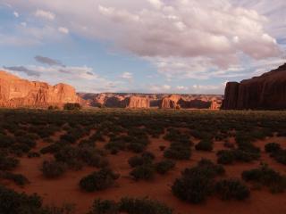 обои Долина в каньоне фото
