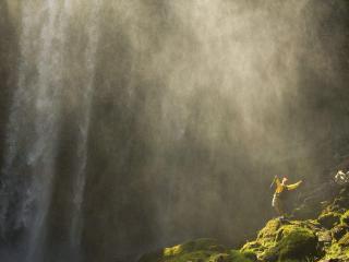 обои для рабочего стола: Catching Mist, Mount Hood, Oregon