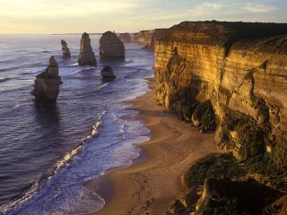 обои Scenic Twelve Apostles, Port Campbell National Park фото