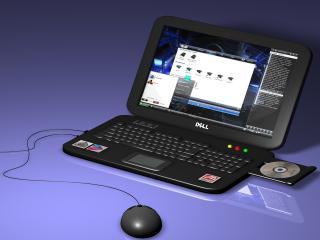 обои Ноутбук DELL фото